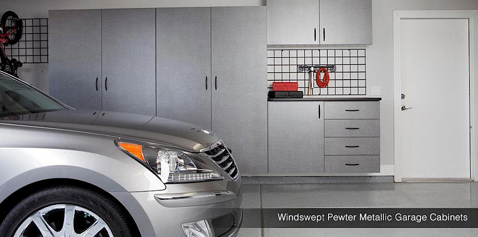 Pewter Garage Cabinets | Grand Rapids, Minnesota