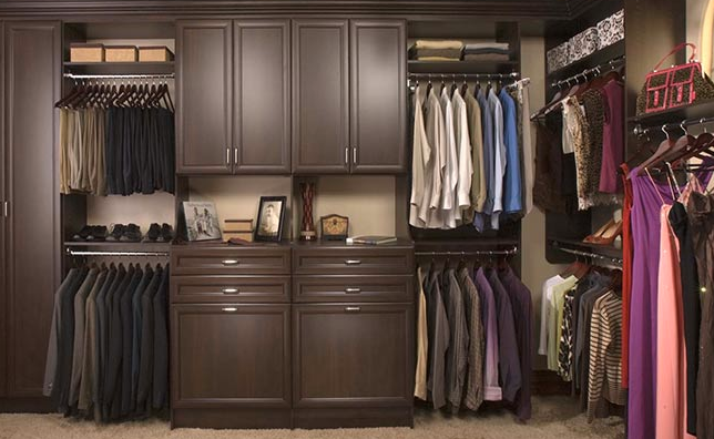 Custom Walk In Closet System