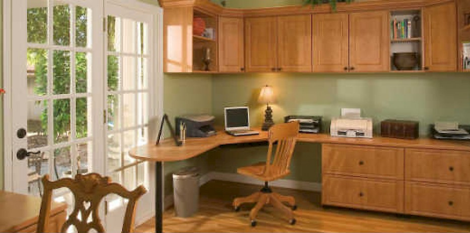 Home office storage solutions for the Minnesota area.