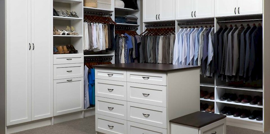 walk in closet | northland closets and garages