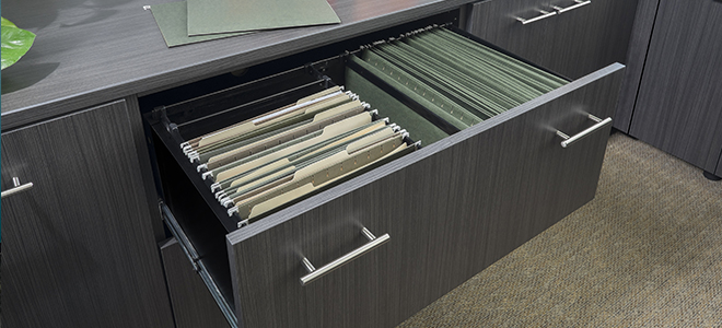 Home Office File Cabinet Drawer